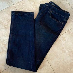 Blue skinny jean size 12